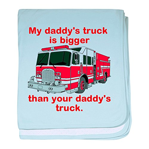 My Daddys Truck - Baby Blanket, Super Soft Newborn Swaddle