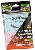 FlashSticks Booster German Beginner Post-it Notes (200 words)