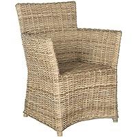 Safavieh Home Collection Natuna Soft Grey Arm Chair
