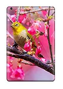 Fashion Tpu Case For Ipad Mini/mini 2- Mountain Cherry Bird Defender Case Cover