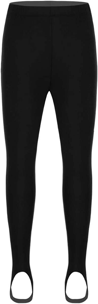 iiniim Kids Children Girls Stirrup Leggings Sports School Dance Ballet Yoga Gymnastics Tights