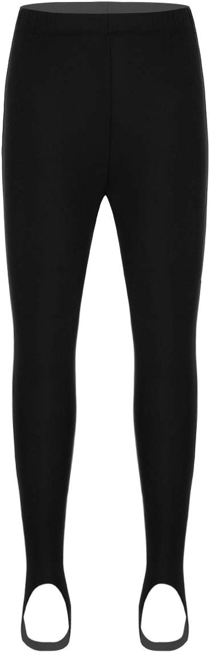 winying Unisex Girls Boys Stirrup Athletic Leggings Pants Dance Sports Yoga Tights Pantyhose