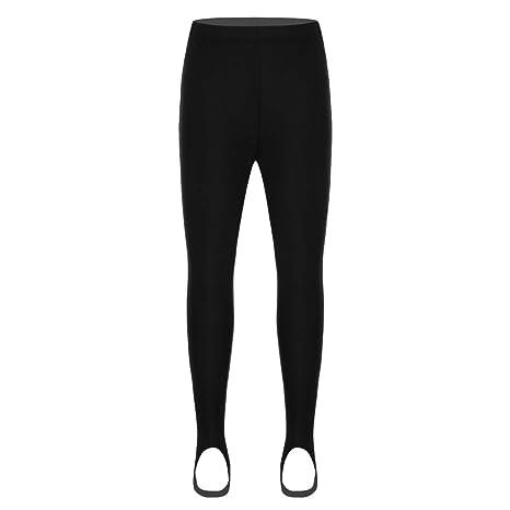 9a934508213b4 CHICTRY Unisex Boys Girls Stirrup Leggings Shiny Nylon School Dance  Gymnastics Ballet Tights: Amazon.co.uk: Clothing