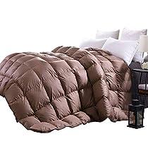 C&W White Goose Down Comforter
