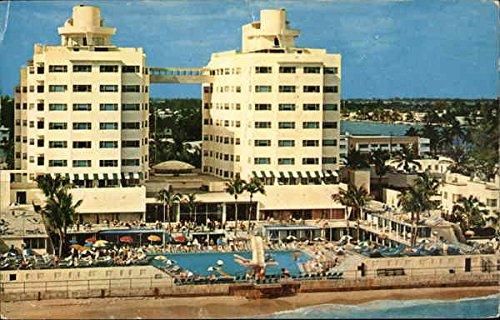 (Sherry Frontenac Hotel Miami Beach, Florida Original Vintage Postcard)