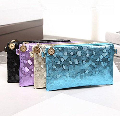5cm 11 violet 5cm Eysee 1 Pochette 20cm bleu noir pour femme 1R7RaqB