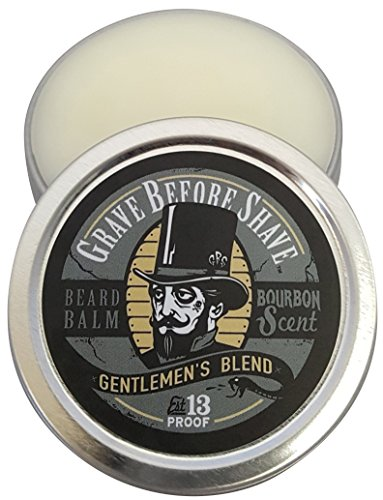 GRAVE BEFORE SHAVE Gentlemen's Blend Beard Balm (Bourbon Scent) (2 oz.)