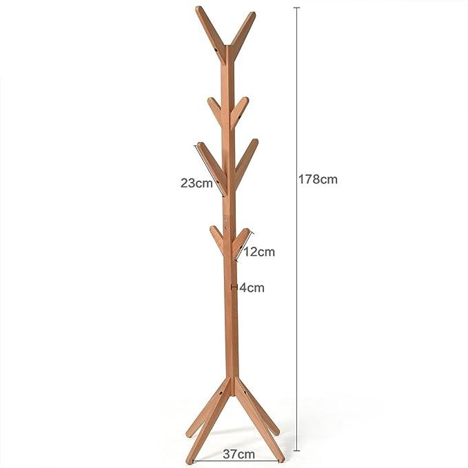 Wadse Soportes de Madera sólida Racks Forma Simple del árbol ...