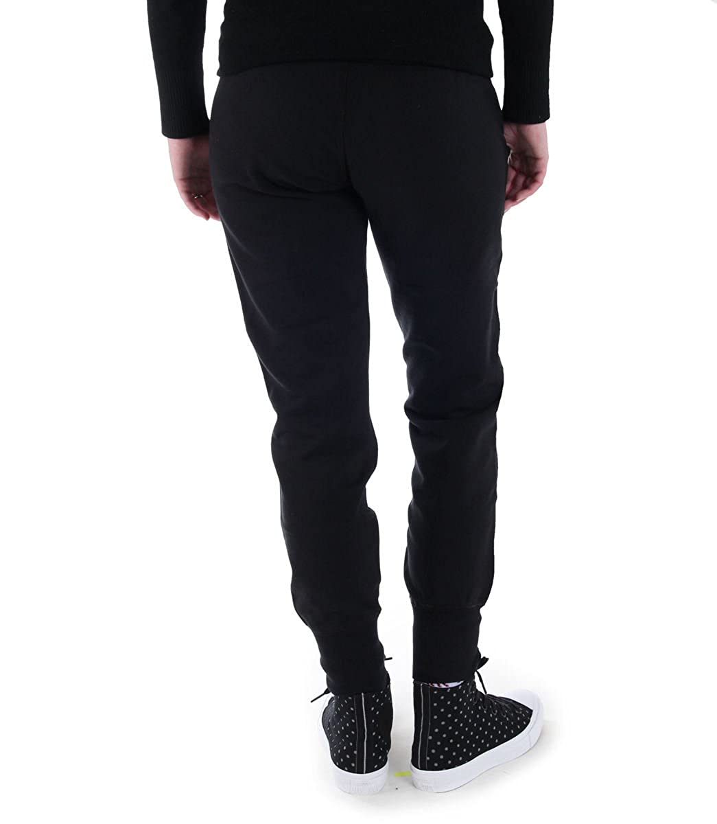 Converse Pants Women (Trackpants) CORE Signature FT - Black - 10003140-A01   Amazon.co.uk  Clothing d005da9428