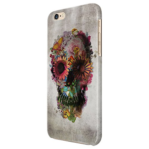 Cover Custodia Protettiva Skull Flower Eyes Grey Shades Fumo Smoke Fiori Occhi Colori Teschio Mexican Messicano Case Iphone 4/4S/5/5S/5SE/5C/6/6S/6plus/6s plus Samsung S3/S3neo/S4/S4mini/S5/S5mini/S6/