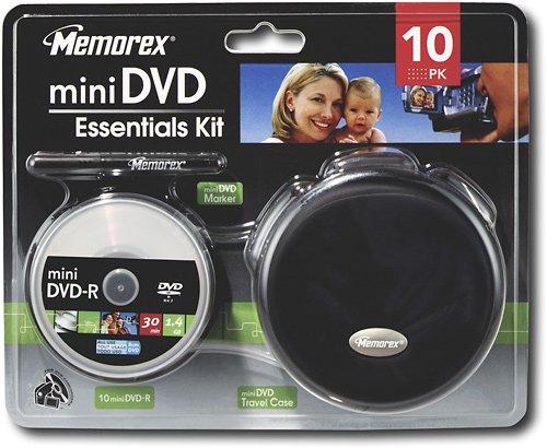 Memorex - Mini DVD Essentials Starter Kit - 32028205