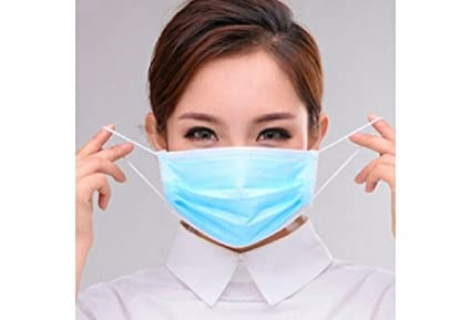 Elastic Buy Mask With 3 Medifine Bacteria Ply Disposable Face