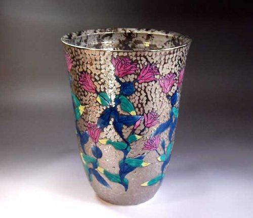 有田焼伊万里焼 花瓶陶器花器壺 贈答品 高級ギフト 記念品 贈り物 ほととぎす藤井錦彩 B00HQ68BX4