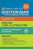 Oswaal CBSE CCE Question Bank with Complete Solutions for Class 10 Term I (April to Sep. 2016) English Lang. & Lit (Old Edition)
