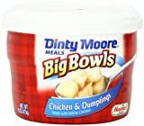 Dinty Moore Big Bowls Chicken & Dumplings, 15-Ounce Microwavable Bowls (Pack of 8)
