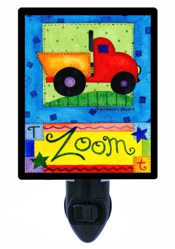 (Childrens Night Light - Zoom - Dump Truck)