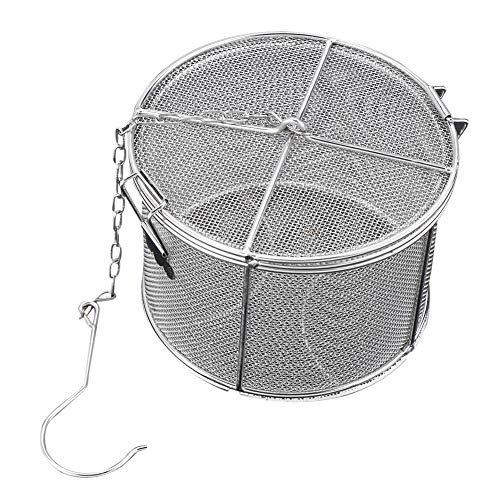 Stainless Steel Tea Ball Strainer Soup Seasonings Spice Separated Basket Filter(1410cm) ()