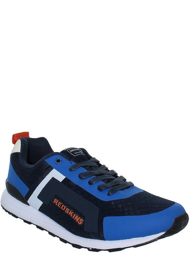 rotskins Schuhe HL761GJ Zanelli Navy   Blau   Orange
