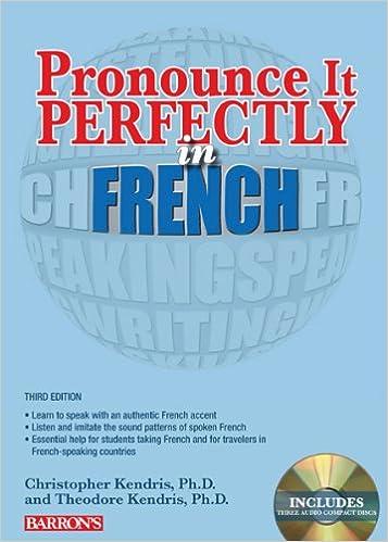 E-kirjojen latausfoorumi Pronounce it Perfectly in French: With Audio CDs (Pronounce It Perfectly CD) 1438072813 PDF CHM
