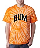 "Silo Shirts TIE DIE ORANGE Madison Bumgarner San Francisco ""BUM"" T-Shirt"