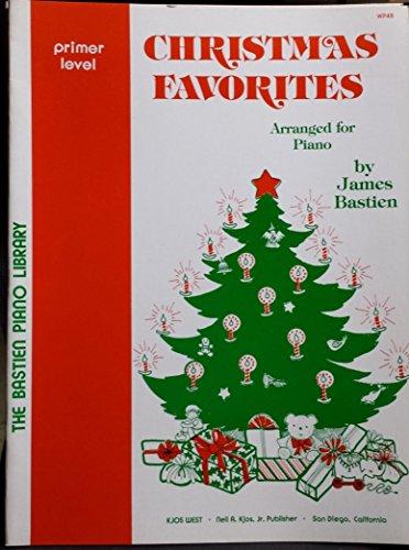 - Christmas Favorites Arranged for Piano, Primer Level
