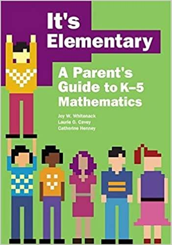 It s Elementary: A Parent s Guide to K-5 Mathematics: Joy W ...