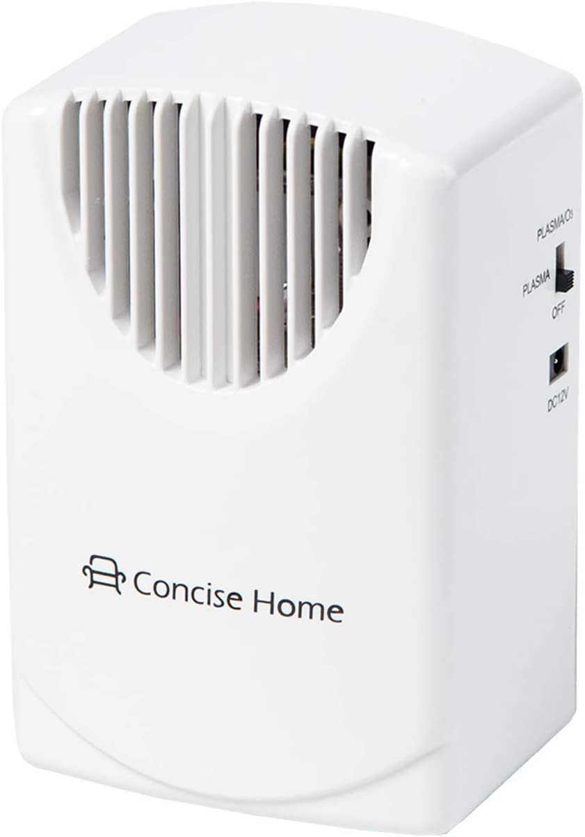 Concise Home Portable Air Purifier 350mg h Ozone Generator Home Air Ionizers Freshener Odor Eliminator with Car Charger
