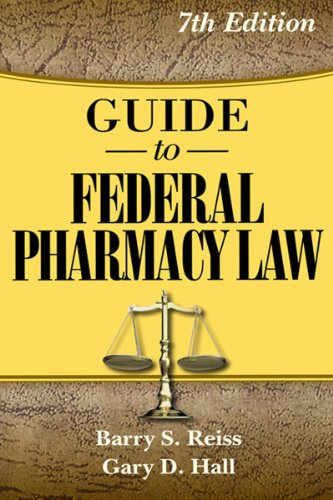 Guide to Federal Pharmacy Law - Apothecary Shop Pharmacy