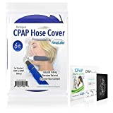CPAP Hose Cover Tube Wrap — [6 Foot] Fleece Tubing Comfort w/Zipper, Perfect-Fit Plus Inclusions | CPAP Machine, Masks & Equipment Supplies RespLabs