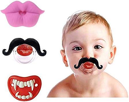Chupete divertido para bebés y niños pequeños, unisex, de 0 a 6 ...