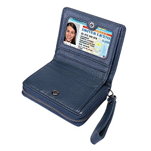 Itslife Women's Leather Multi Functional Compact Wallet Card Holder by ITSLIFE (Image #5)