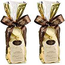 2012-2016 Winner of Best White Chocolate in the World - 2 8 oz. bags of 34% Icoa White Chocolate Discos