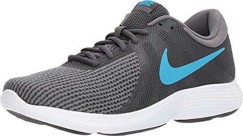 Nike Men's Revolution 4 Running Shoes (10 D(M) US, Anthracite/Lt Blue Fury Dk Gry)