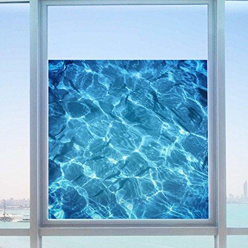 Wowall 3D Swimming Pool Tile Water Ripple Glass Film (Swimming Pool Glass Tile)
