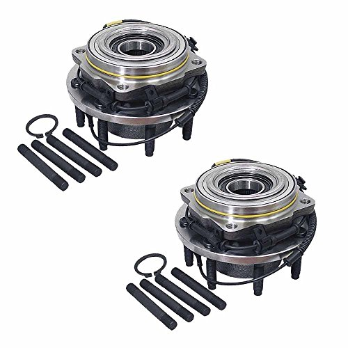 DTA Front Wheel Bearing & Hub Assembly NT515082 x2 (Pair) Brand New, Fit F250 F350 Superduty, Dual Rear Wheel Only, 4WD, With ABS