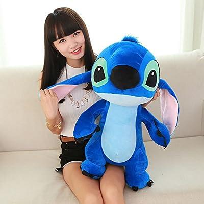 1pcs 60cm Big Cute Giant Lilo Stitch Plush Large Stuffed Animals Soft Toy Doll Pillow Cushion Birthday Holiday Child Girl Boy Gift