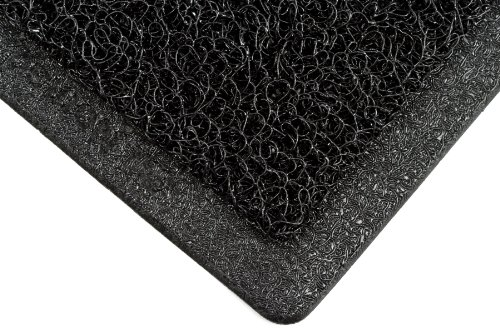 3M Nomad Medium Traffic Backed Scraper Matting, 6050, Black, 3' x (3m 6050 Nomad Scraper Mat)