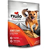 Nulo Freestyle Jerky Dog Treats: Healthy Grain Free Dog Treat - Natural Dog Treats for Training or Reward - Real Meat Jerky Strips for Puppy and Adult Dogs - Turkey with Cranberries Recipe - 5 oz Bag