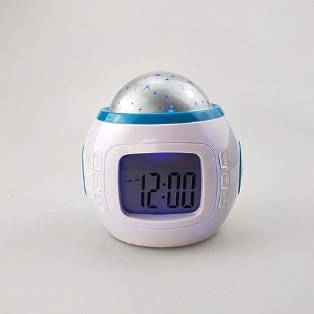 Alarmclocker8B Regalo para niños Música Starry Sky Sn Sleep ...