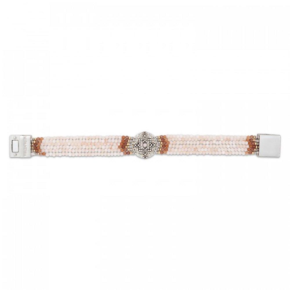06bb23cab33cf0 Amazon.com: Hipanema Venus Cuff Bracelet White: Jewelry