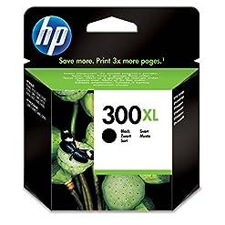 HP CC641EE 300XL High Yield Original Ink Cartridge, Black, Pack of 1