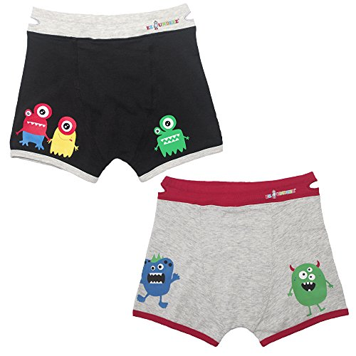 (Ez Undeez Boys Boxers Toddler Training Underwear, Monsters, 2-3 yr)