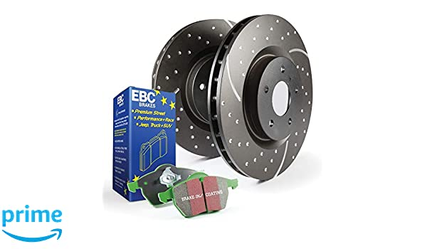 EBC S3KR1110 Stage-3 Truck and SUV Brake Kit