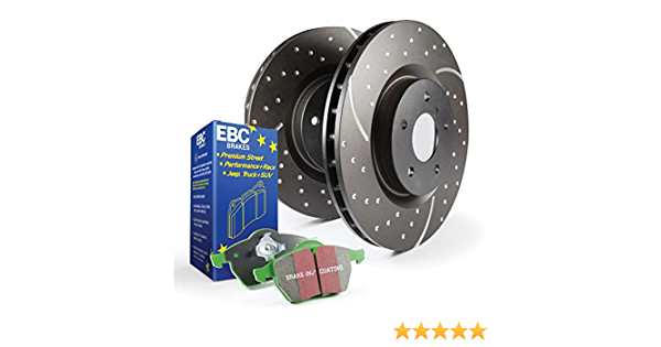 EBC S3KR1090 Stage-3 Truck and SUV Brake Kit