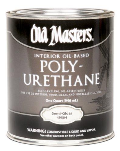 [Old Masters 73416 H2o Interior/exterior Polyurethane, Gloss] (Masters H2o Interior Wood Stain)