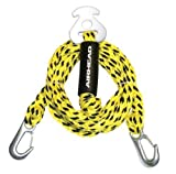 Airhead Heavy-Duty Kwik-Connect Tow Harness, Black/Yellow