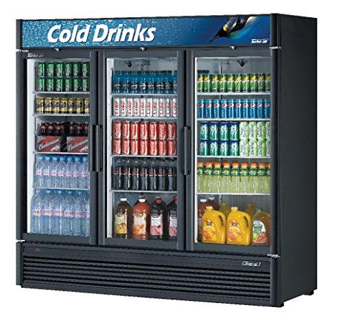 Door Cf Refrigerator Panels (71.3cf Glass Merchandiser Cooler w/ 3 Swing Doors)