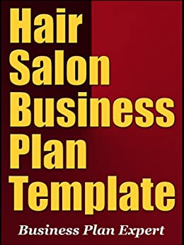 Hair salon business plan template including for A business plan for a beauty salon