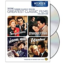 TCM Greatest Classic Films Collection: Hitchcock Thrillers (Suspicion / Strangers on a Train / The Wrong Man / I Confess) (2009)