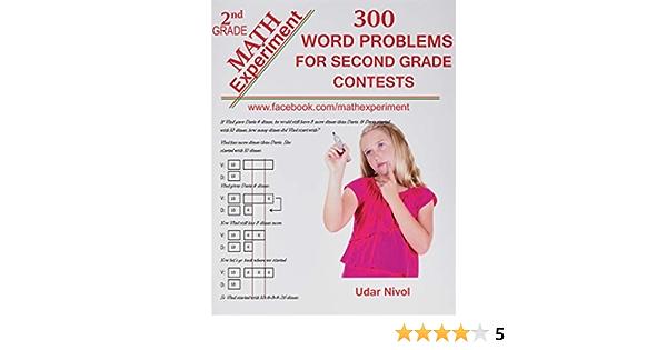Amazon.com: Math Experiment - 300 Word Problems For Second Grade Contests  (9781492793380): Nivol, Udar: Books